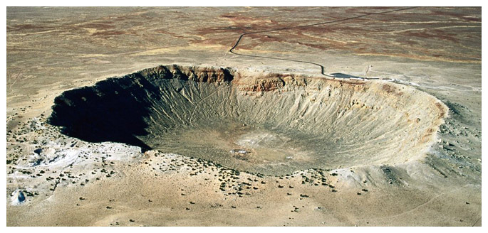 Тайна Аризонского кратера