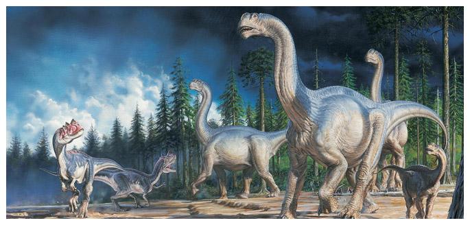 О гибели динозавров