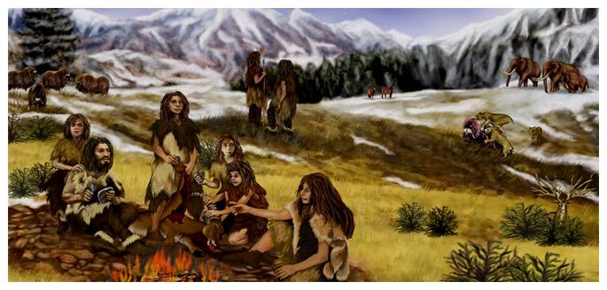 Начало заселения Земли 300 тыс. лет назад